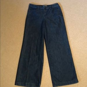Cold water Creek Wide Leg Jeans